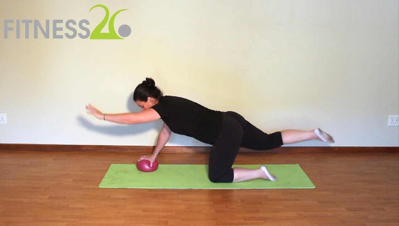 Megan – Intermediate Pilates: Using the Small Ball Part 2 Cool Down
