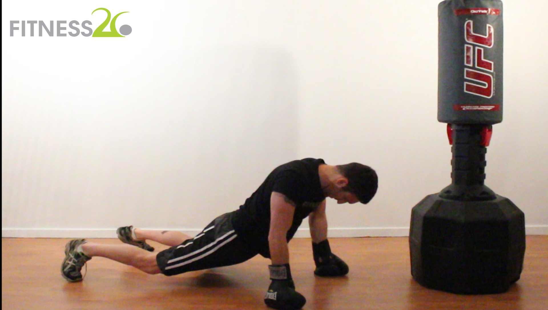 Josh – Quick start Routine: Boxing End offs Part 2 (Suicide sprawls)