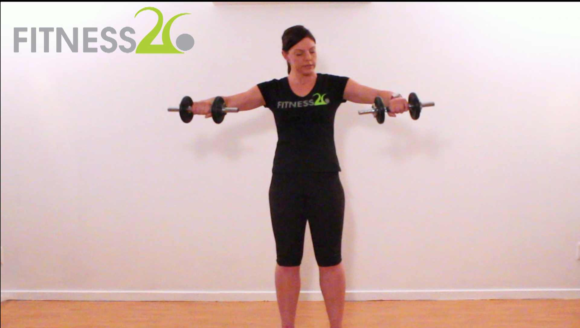 Letitia – Shoulder Workout Using Weights: Intermediate Level