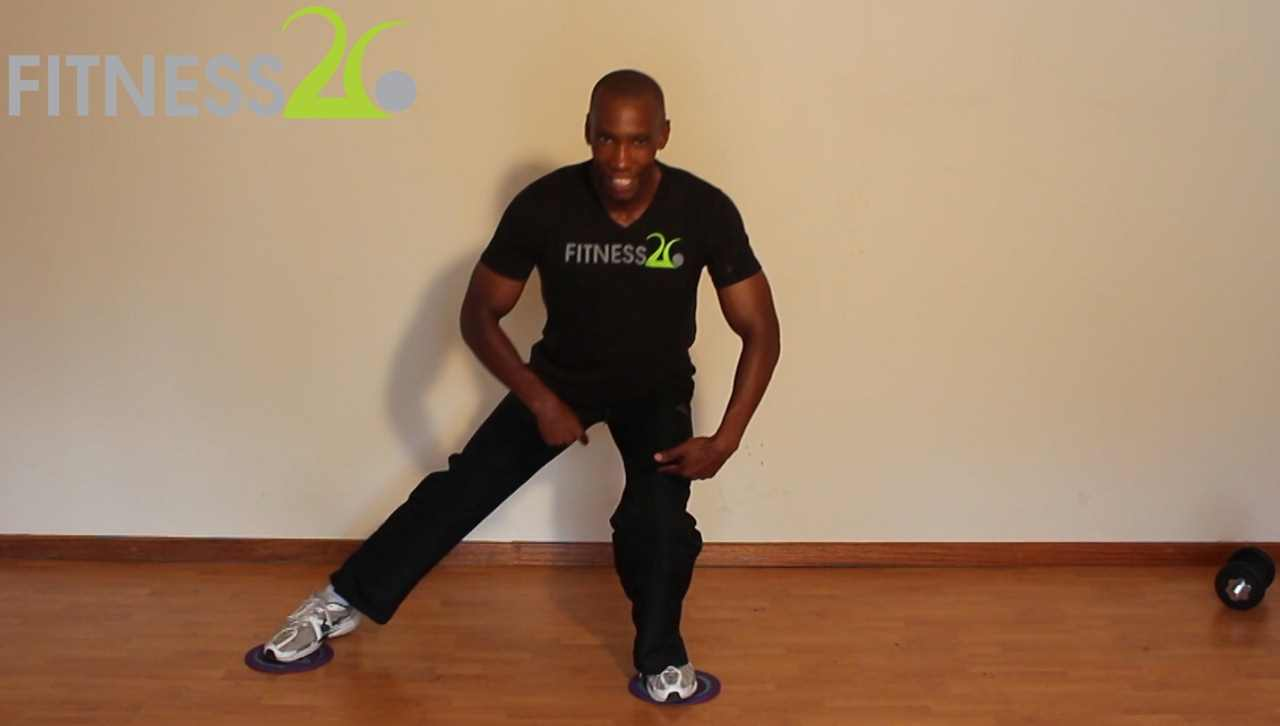 Molefe – Beginner to Intermediate Routine Using Gliders