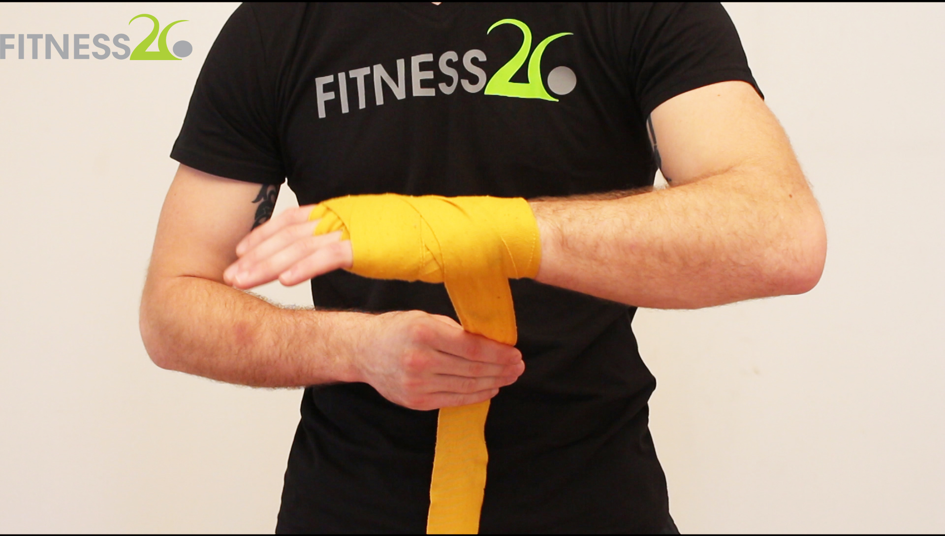 How to Wrap hands before Boxing – Josh