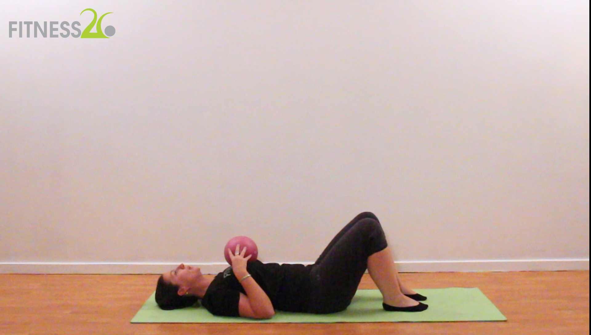 Megan – Basic Pilates Session using a Small ball