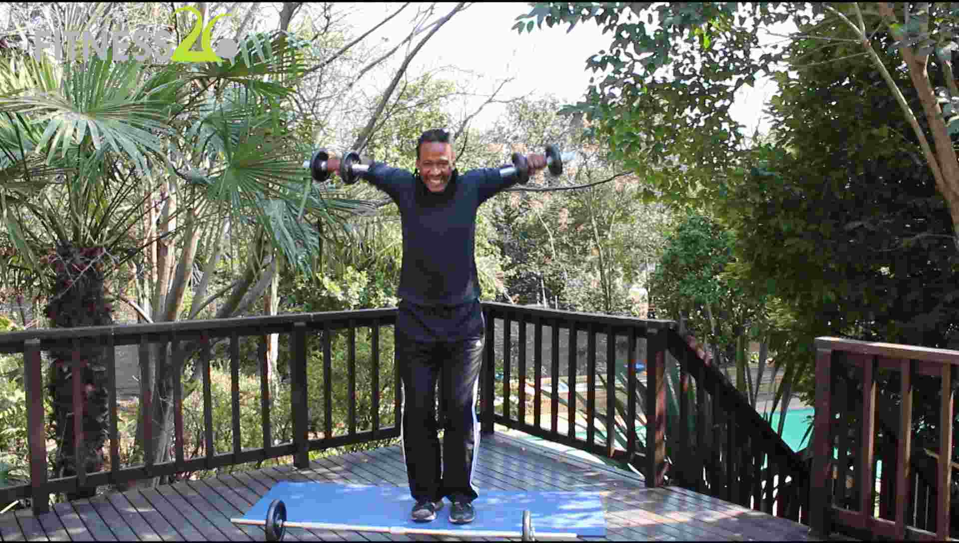 Siphiwe – Upper Body Toning : Intermediate