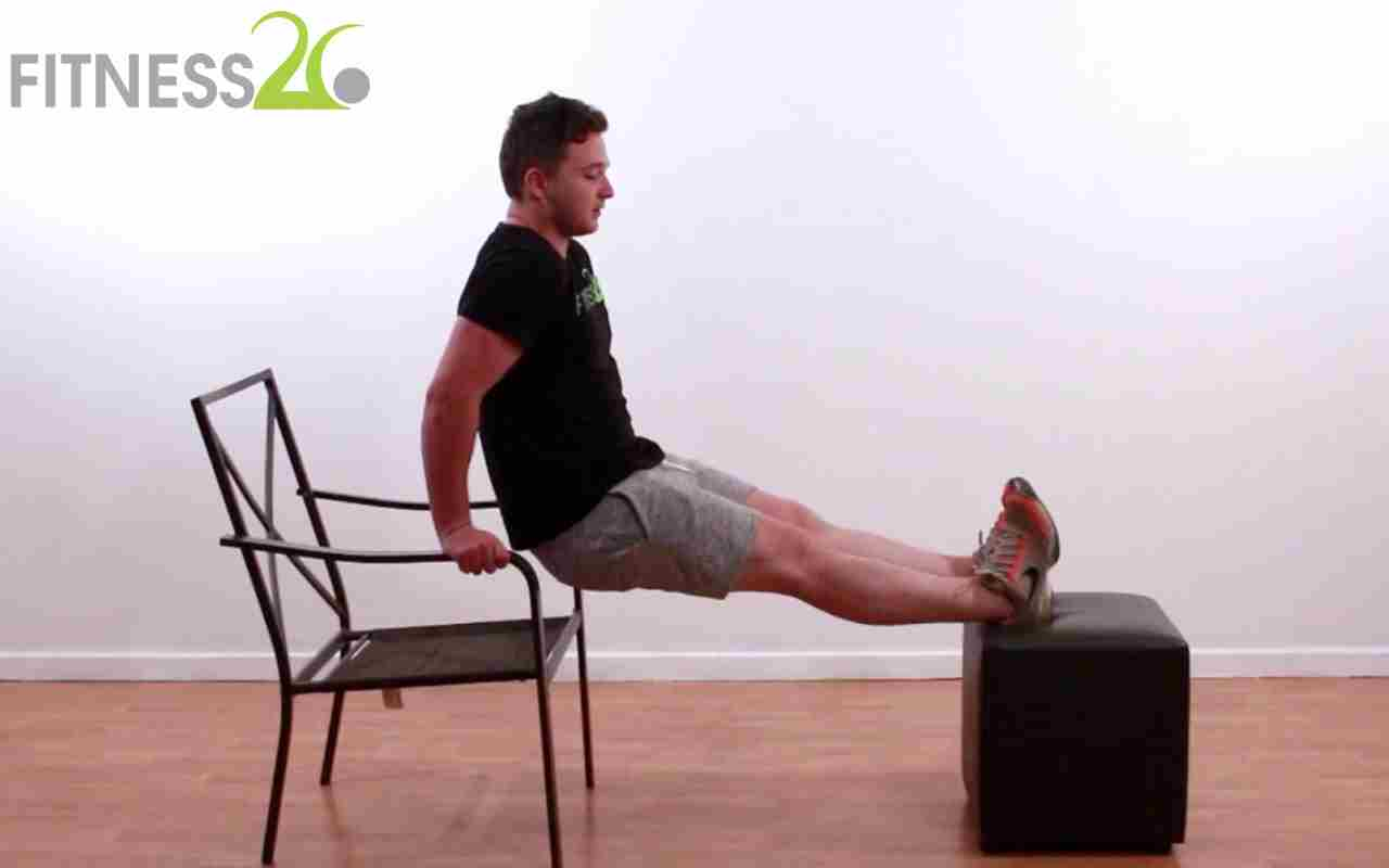 Chest, Triceps and upper back – Jake