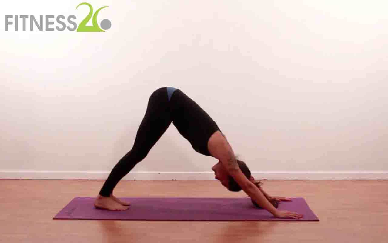 Yoga Stretching Hips plus Lower Back