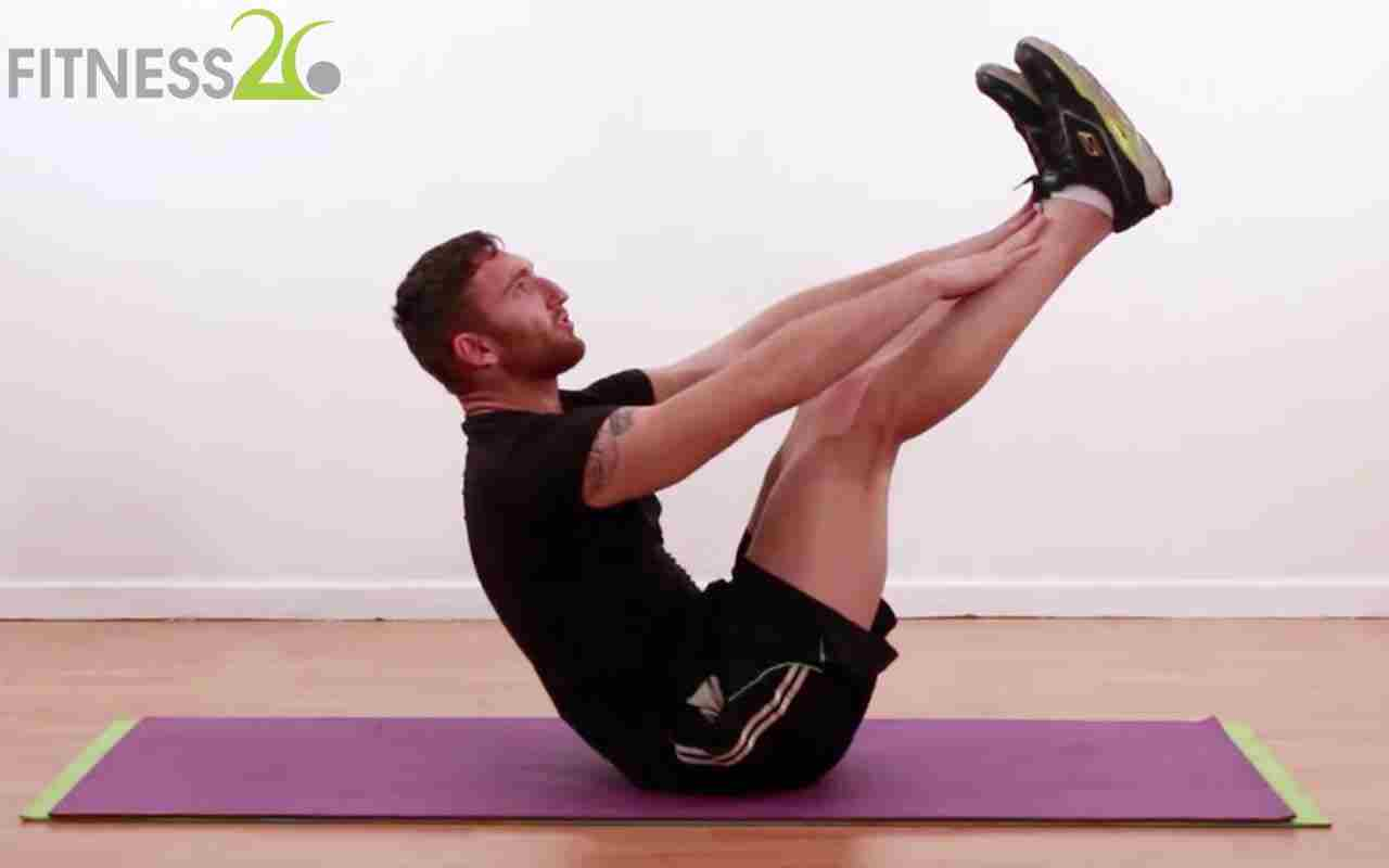 Quickstart Routine: Abs and Back -Josh