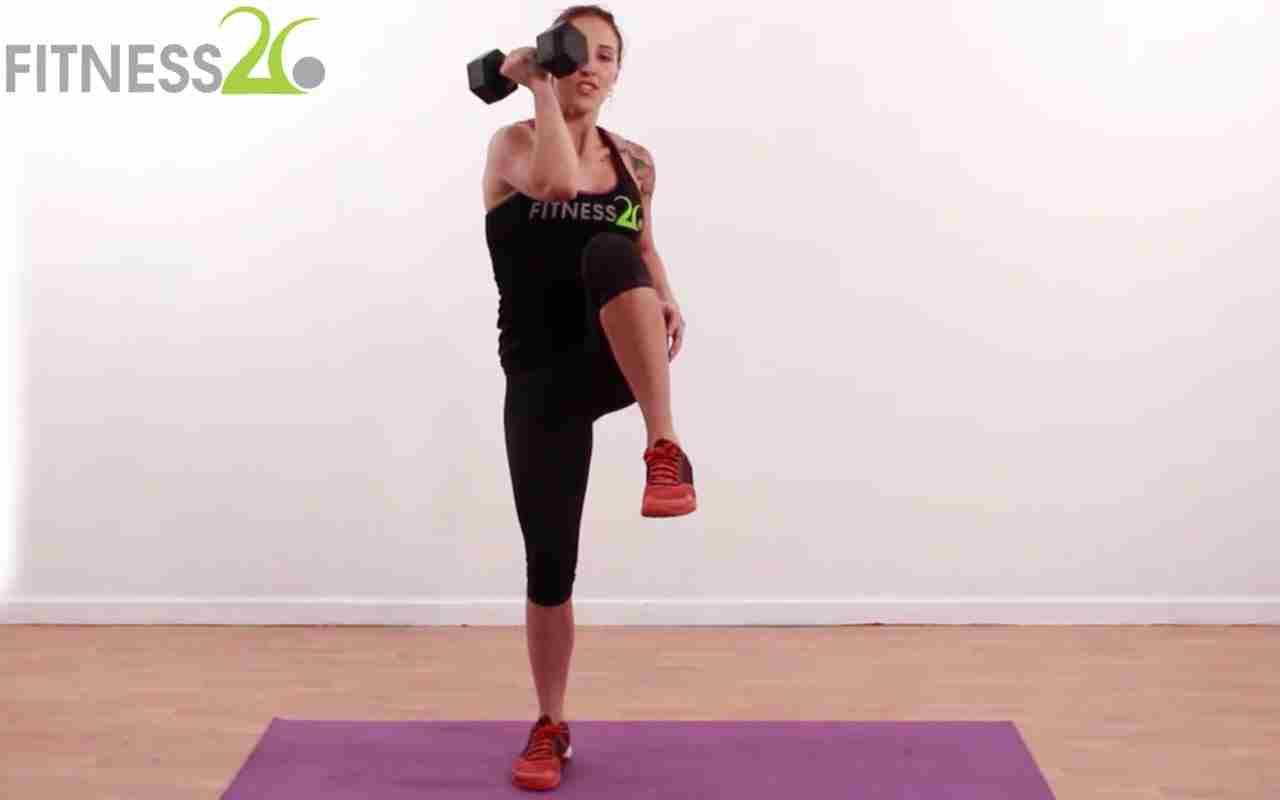 Standing Flat Ab Workout – Manuella
