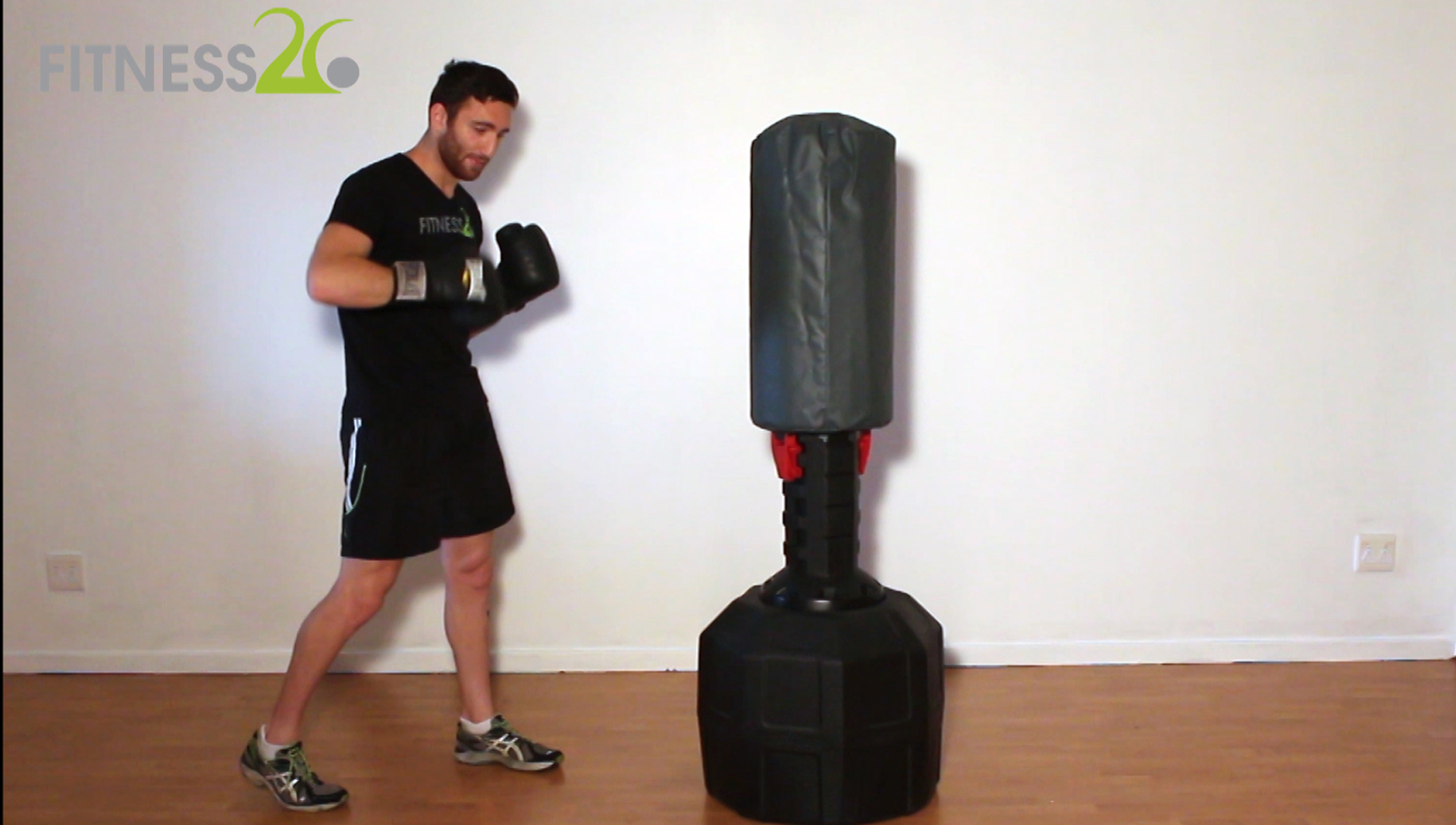 Using the Boxing Bag in the Gym – Josh