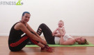 Mommy baby workout