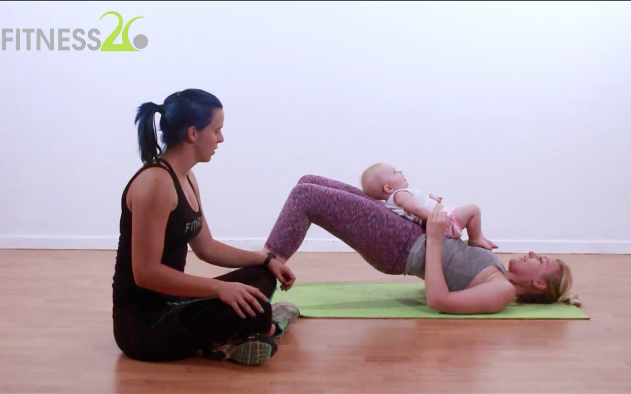 Mommy baby workout 2