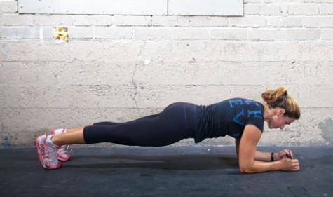 Basic Elbow Plank