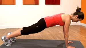 Basic high plank