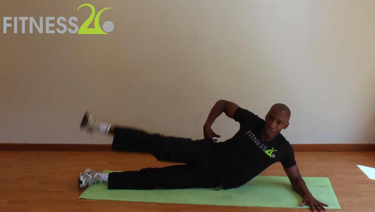online fitness video targeting glutes
