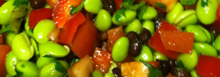 Edamame Black Bean Salad