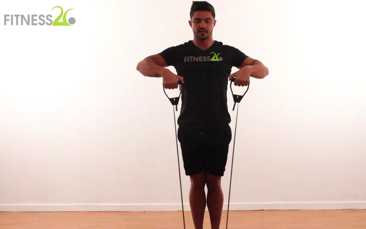 Desmond – Legs , Shoulders and Core – Beginner to Intermediate