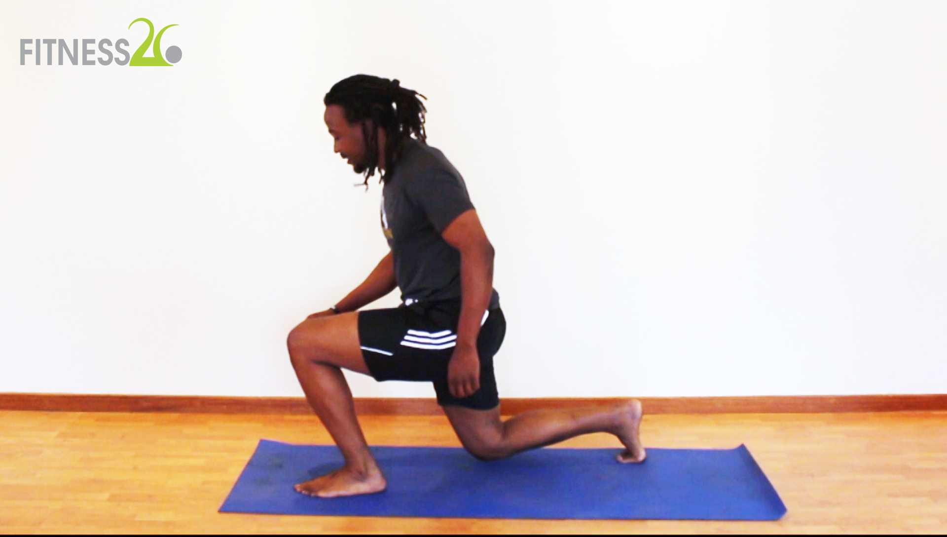 Siphiwe – Full Body weight Exercises Using Plyometrics: Intermediate
