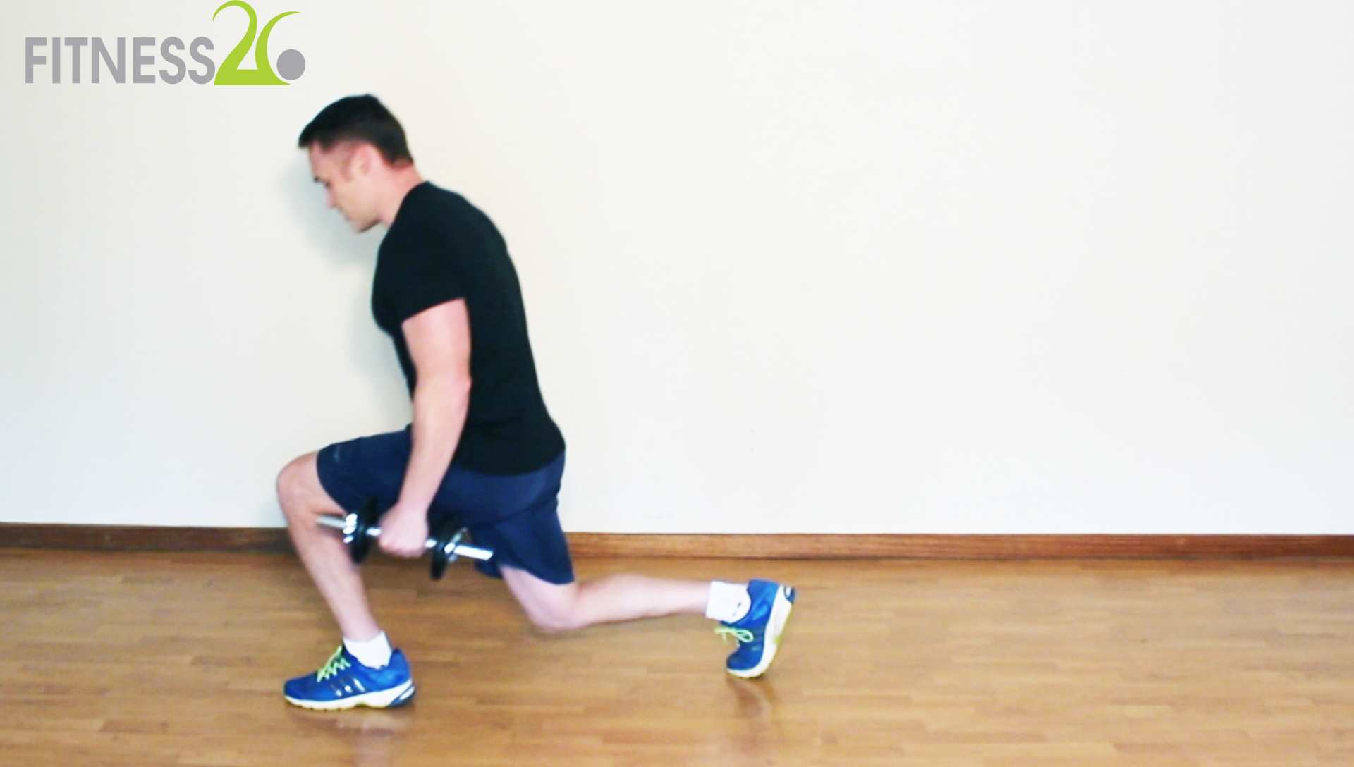 Richard – Leg Workout: Lunges, Squats, Skipping & Core For Intermediate level