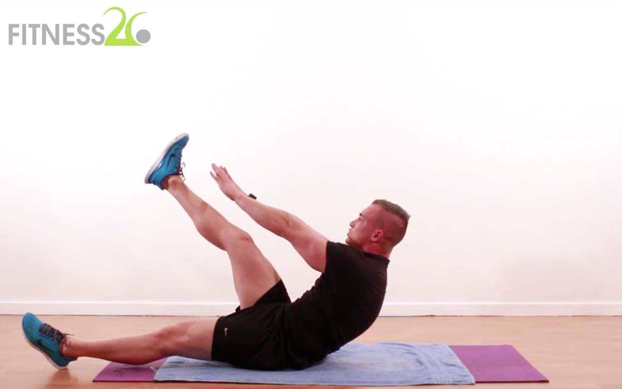 Intense Core Training – Shaun