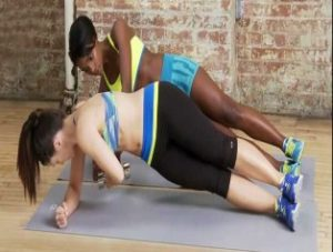 Side Plank Under Pass