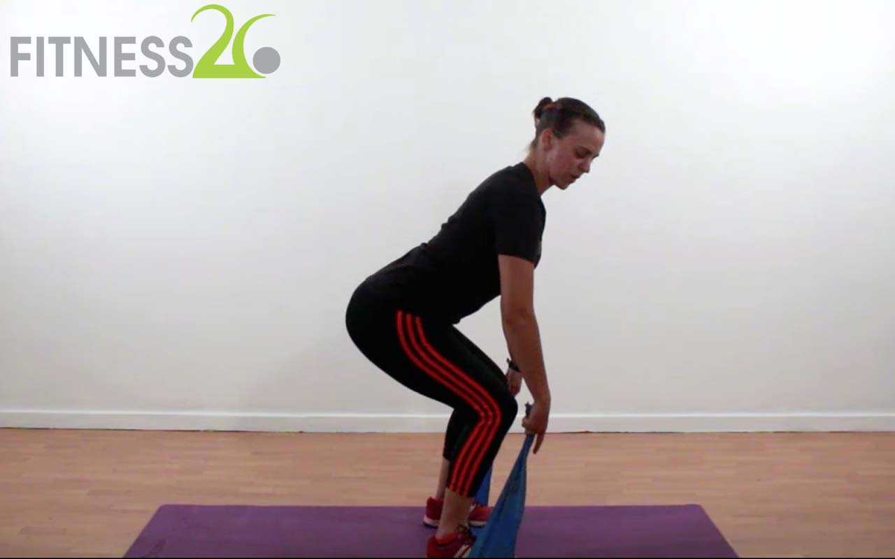 Warm Up using a resistance Band – Claire Deeny