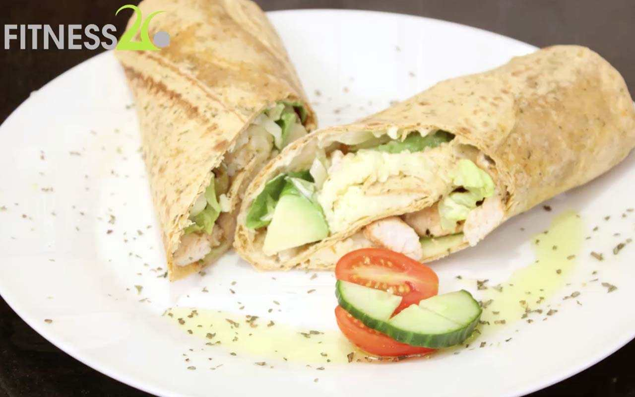 Dylan's Chicken Greek Salad Wrap