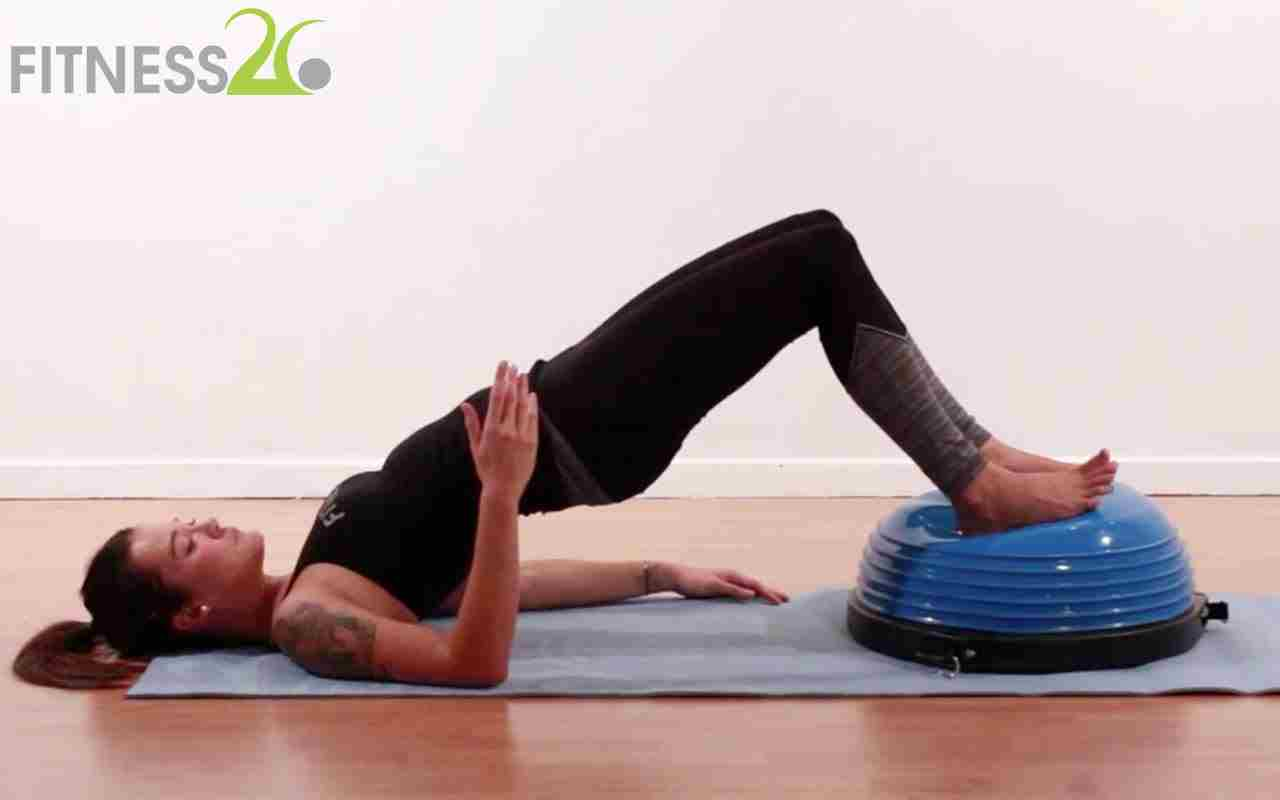 Pilates using the Half Bosu – Tristan