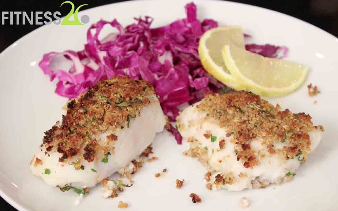 Robyn's Herb crusted fish
