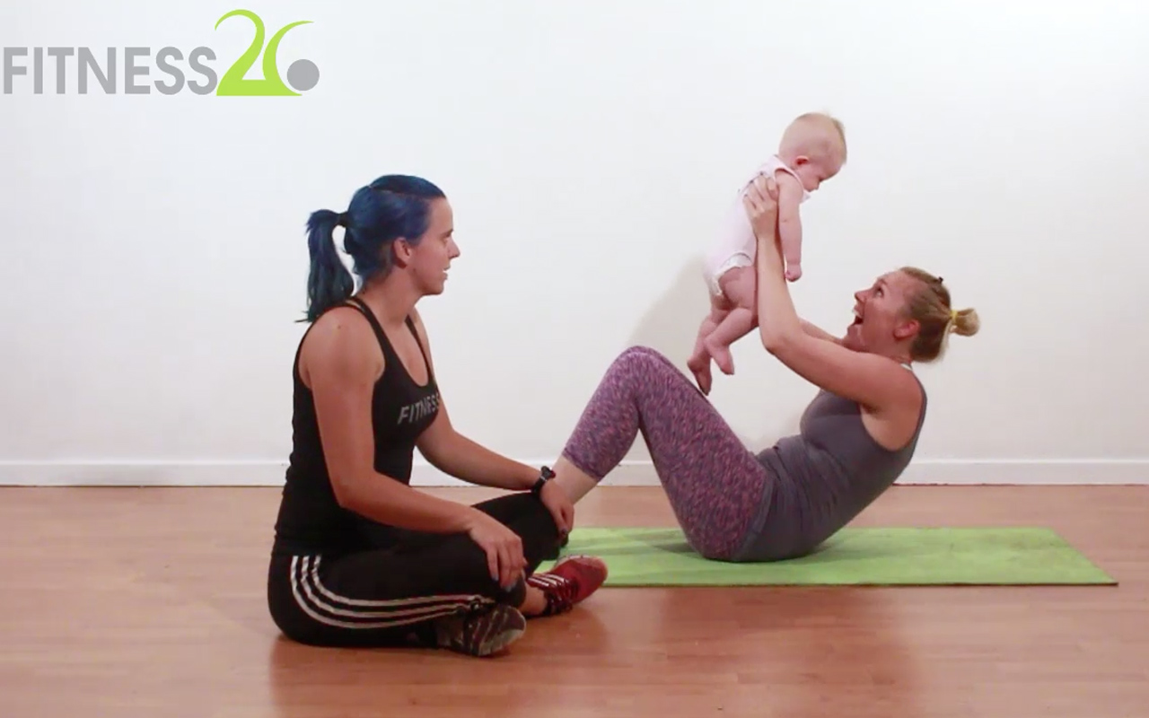 Post Pregnancy Workout (Core)
